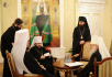 Освящение Синодальной резиденции в Даниловом монастыре. Заседание Священного Синода Русской Православной Церкви