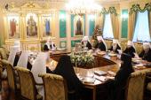 Священный Синод Русской Православной Церкви завершил последнее в 2011 году заседание