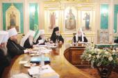 Заседание Священного Синода Русской Православной Церкви 28 декабря 2011 года