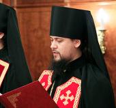 Слово архимандрита Ефрема (Просянка) при наречении во епископа Бикинского, викария Хабаровской епархии