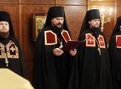 Слово архимандрита Аристарха (Яцурина) при наречении во епископа Николаевского, викария Хабаровской епархии