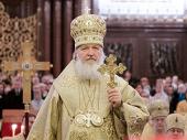 Слово Святейшего Патриарха Кирилла перед новогодним молебном в Храме Христа Спасителя
