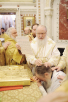 Патриаршее служение в неделю 29-ю по Пятидесятнице в Храме Христа Спасителя. Хиротония архимандрита Николая (Погребняка) во епископа Балашихинского