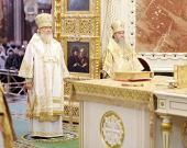 Предстоятель Русской Церкви возглавил хиротонию архимандрита Николая (Погребняка) во епископа Балашихинского, викария Московской епархии