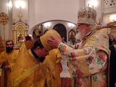 Игумен Филарет (Гусев), избранный епископом Бежецким и Весьегонским, возведен в сан архимандрита