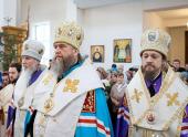 Митрополит Астанайский и Казахстанский Александр: «Молитвенное общение со святыми — потребность верующего сердца»