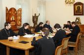 В ОВЦС прошло заседание группы по работе над документами комиссий Межсоборного присутствия по приему в Церковь из инославных обществ и из расколов