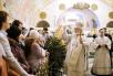 Патриаршее служение в Храме Христа Спасителя в Крещенский Сочельник