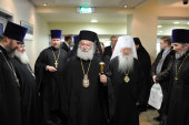 Начался визит в Россию Блаженнейшего Патриарха Александрийского и всей Африки Феодора II