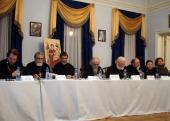 В Марфо-Мариинской обители прошел круглый стол, посвященный богословскому осмыслению социального служения