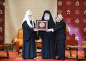 Предстоятель Русской Церкви возглавил XII церемонию вручения премий Международного фонда единства православных народов
