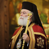 Слово Блаженнейшего Патриарха Александрийского и всей Африки Феодора II за богослужением в Храме Христа Спасителя