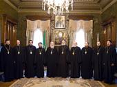 Состоялась братская беседа Святейшего Патриарха Кирилла с Блаженнейшим Митрополитом Чешских земель и Словакии Христофором