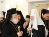 Встреча Святейшего Патриарха Кирилла с Блаженнейшим Патриархом Александрийским Феодором