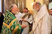 В Санкт-Петербурге торжественно отметили 80-летие настоятеля Казанского кафедрального собора протоиерея Павла Красноцветова