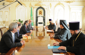 Предстоятель Русской Православной Церкви встретился с лидером греческой партии «Новая демократия» А. Самарасом