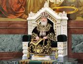 В третью годовщину интронизации Святейшего Патриарха Кирилла в кафедральном соборном Храме Христа Спасителя совершена Божественная литургия