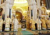 Слово Святейшего Патриарха Кирилла в третью годовщину интронизации в Храме Христа Спасителя