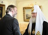 Предстоятель Русской Православной Церкви принял посла Великобритании Т. Барроу