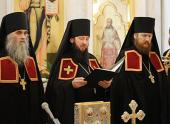 Слово архимандрита Амфилохия (Бондаренко) при наречении во епископа Усть-Каменогорского и Семипалатинского