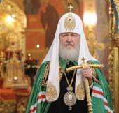 Слово Святейшего Патриарха Кирилла после Божественной литургии в храме Спаса Преображения на Песках