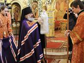Слово Святейшего Патриарха Кирилла при вручении архиерейского жезла Ефрему (Барбинягре), епископу Боровичскому и Пестовскому