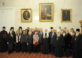 Святейший Патриарх Кирилл возглавил церемонию вручения Макариевских премий за 2011 год