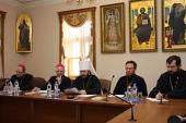 В Москве прошли собеседования между Русской Православной Церковью и Римско-Католической Церковью Литвы, посвященные актуальным проблемам преподавания религии в светской школе