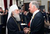 Посол Российской Федерации в Сербии удостоен высшей награды Сербской Православной Церкви