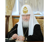 Выступление Святейшего Патриарха Кирилла на встрече председателя Правительства РФ В.В. Путина с лидерами традиционных религиозных общин России