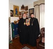 Частицы мощей небесных покровителей Казахстана переданы в дар Австралийской епархии Русской Зарубежной Церкви