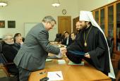 Подписано соглашение о сотрудничестве между Общецерковной аспирантурой и докторантурой и Высшей школой экономики
