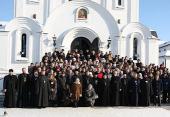 В Минске прошел X юбилейный слет Объединения молодежи Белорусской Православной Церкви