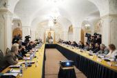 Святейший Патриарх Кирилл возглавил расширенное заседание Патриаршего совета по культуре