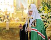 Проповедь Святейшего Патриарха Кирилла в праздник Иверской иконы Божией Матери и день памяти святителя Алексия, митрополита Московского