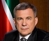 Патриаршее поздравление президенту Татарстана Р.Н. Минниханову с 55-летием со дня рождения