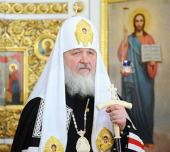 Слово Святейшего Патриарха Кирилла после великого повечерия в понедельник первой седмицы Великого поста