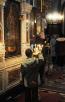 Патриаршее служение в понедельник первой седмицы Великого поста. Чтение канона прп. Андрея Критского