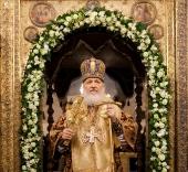 Слово Святейшего Патриарха Кирилла в день празднования 400-летия преставления священномученика Ермогена после Божественной литургии в Успенском соборе Кремля