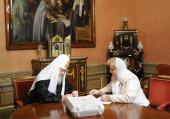 Святейший Патриарх Кирилл принял участие в выборах Президента России