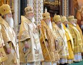 Слово Святейшего Патриарха Кирилла после Божественной литургии в праздник Торжества Православия в Храме Христа Спасителя