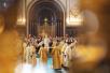 Патриаршее служение в Храме Христа Спасителя в праздник Торжества Православия. Хиротония архимандрита Амвросия (Мунтяну) во епископа Нефтекамского