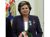 Патриаршее поздравление летчику-космонавту В.В. Терешковой с юбилеем