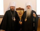 Завершилась поездка председателя Отдела внешних церковных связей в Беларусь