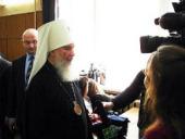 Председатель Издательского Совета Русской Православной Церкви выступил перед студентами Московского государственного университета печати