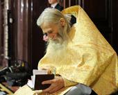 Патриаршее поздравление схиархимандриту Илию (Ноздрину) с 80-летием со дня рождения