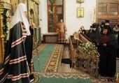 Проповедь Святейшего Патриарха Кирилла в канун недели 2-й Великого поста в Стефано-Махрищском монастыре