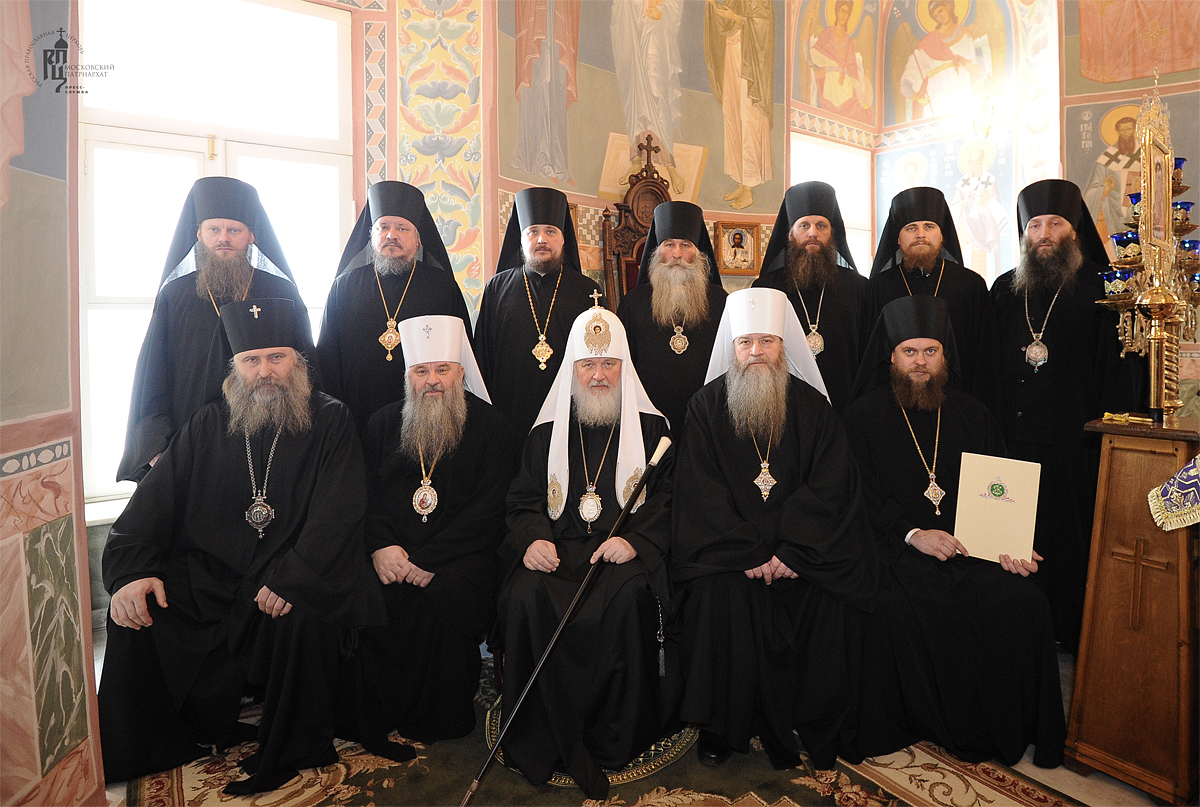 Патриаршее служение в Покровском монастыре в Хотьково. Хиротония архимандрита Филиппа (Новикова) во епископа Карасукского