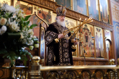 В неделю 2-ю Великого поста Святейший Патриарх Кирилл совершил Литургию в Покровском монастыре в Хотьково и возглавил хиротонию архимандрита Филиппа (Новикова) во епископа Карасукского