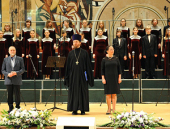 В Храме Христа Спасителя состоялось открытие V Международного хорового фестиваля «Пою Богу моему, дондеже есмь»